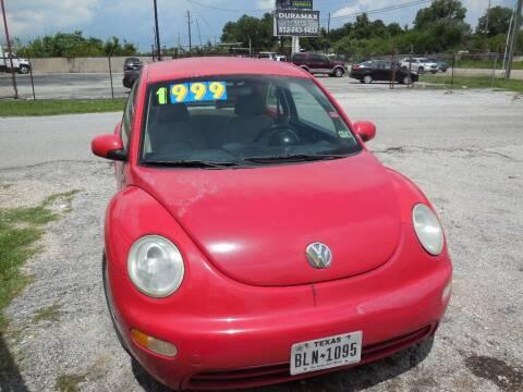 2003 Volkswagen New Beetle for sale at SCOTT HARRISON MOTOR CO in Houston TX
