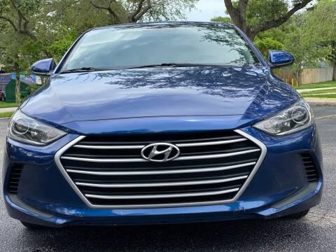 2018 Hyundai Elantra for sale at HIGH PERFORMANCE MOTORS in Hollywood FL
