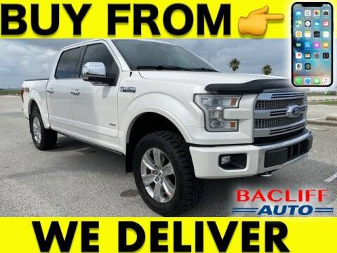 2015 Ford F-150 for sale at Bacliff Auto in Bacliff TX