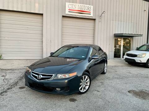 2007 Acura TSX for sale at CTN MOTORS in Houston TX