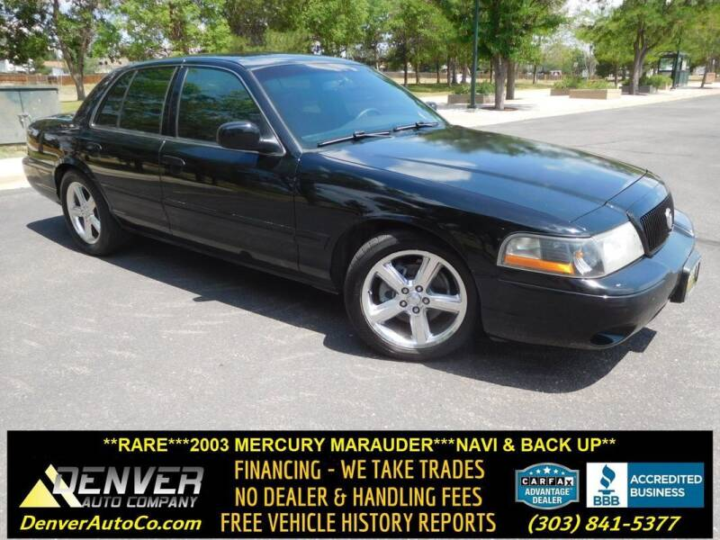2003 Mercury Marauder for sale in Parker, CO
