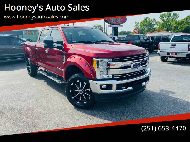 2017 Ford F-250 Super Duty for sale at Hooney's Auto Sales in Theodore AL