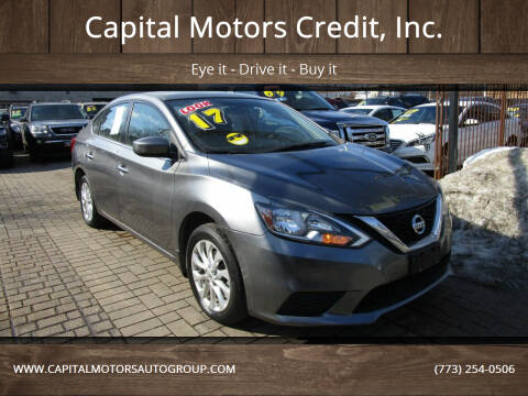 2017 Nissan Sentra for sale at Capital Motors Credit, Inc. in Chicago IL