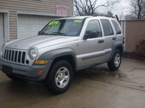 2005 Jeep Liberty for sale at Flag Motors in Islip Terrace NY