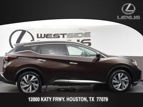2019 Nissan Murano for sale at LEXUS in Houston TX
