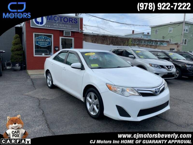 2013 Toyota Camry Hybrid for sale at CJ Motors Inc. in Beverly MA