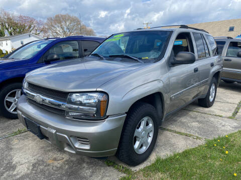 2002 Chevrolet TrailBlazer for sale at Triple M Motors in Point Pleasant NJ