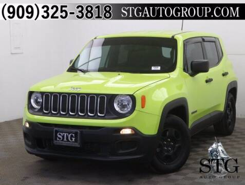 2017 Jeep Renegade for sale at STG Auto Group in Montclair CA