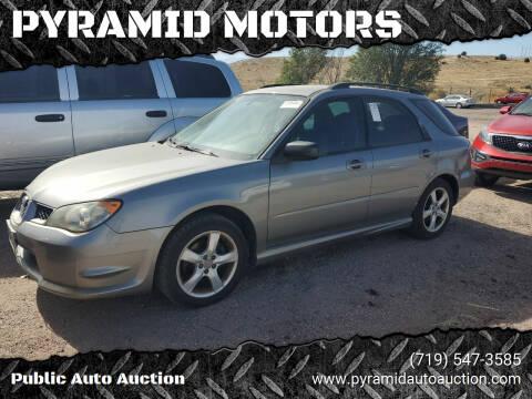 2006 Subaru Impreza for sale at PYRAMID MOTORS - Pueblo Lot in Pueblo CO