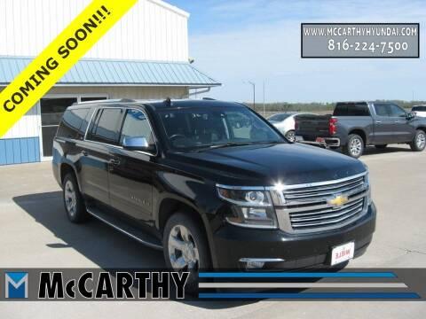 2015 Chevrolet Suburban for sale at Mr. KC Cars - McCarthy Hyundai in Blue Springs MO