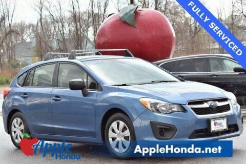 2014 Subaru Impreza for sale at APPLE HONDA in Riverhead NY