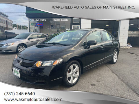 2009 Honda Civic for sale at Wakefield Auto Sales of Main Street Inc. in Wakefield MA