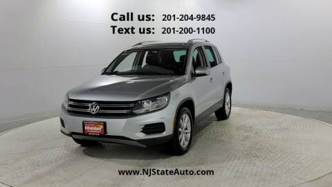 2017 Volkswagen Tiguan for sale at NJ State Auto Used Cars in Jersey City NJ