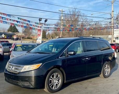 2011 Honda Odyssey for sale at WOLF'S ELITE AUTOS in Wilmington DE