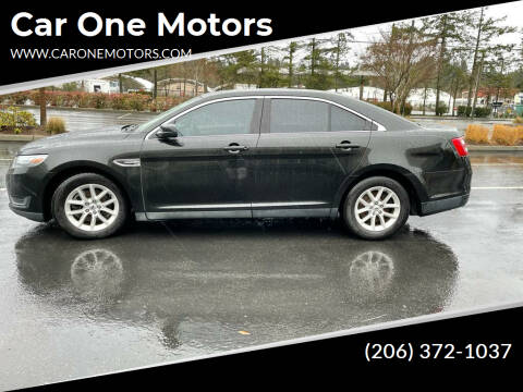 2013 Ford Taurus for sale at Car One Motors in Seattle WA