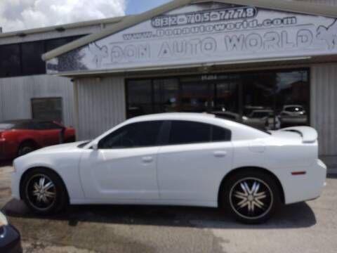 2014 Dodge Charger for sale at Don Auto World in Houston TX