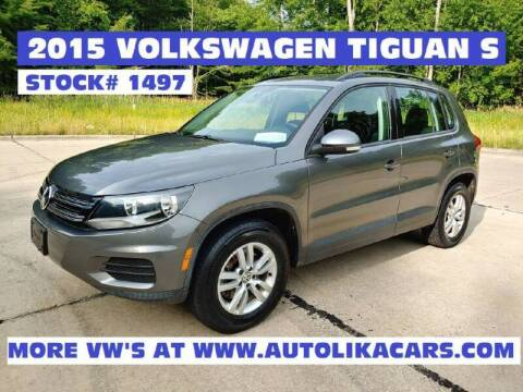 2015 Volkswagen Tiguan for sale at Autolika Cars LLC in North Royalton OH
