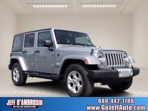 2014 Jeep Wrangler Unlimited for sale at Jeff D'Ambrosio Auto Group in Downingtown PA