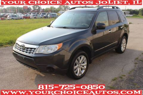 2012 Subaru Forester for sale at Your Choice Autos - Joliet in Joliet IL