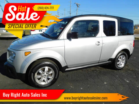 2006 Honda Element for sale at Buy Right Auto Sales Inc in Fort Wayne IN