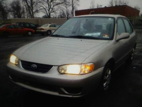 2002 Toyota Corolla for sale at Brick City Affordable Cars in Newark NJ