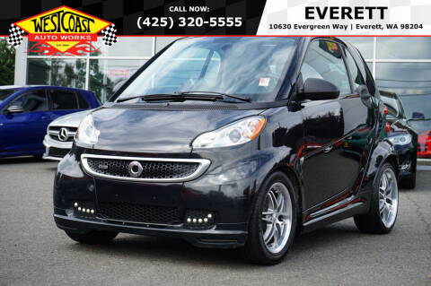 2013 Smart fortwo for sale at West Coast Auto Works in Edmonds WA