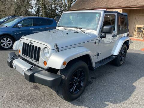 2012 Jeep Wrangler for sale at Suburban Wrench in Pennington NJ