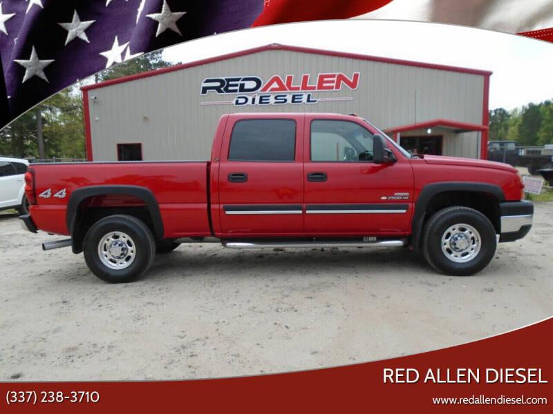 2006 Chevrolet Silverado 2500HD for sale at RED ALLEN DIESEL in Anacoco LA