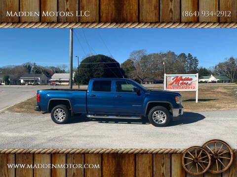 2015 GMC Sierra 1500 for sale at Madden Motors LLC in Iva SC