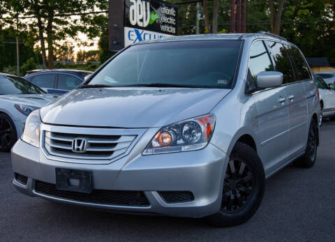 2010 Honda Odyssey for sale at EXCLUSIVE MOTORS in Virginia Beach VA