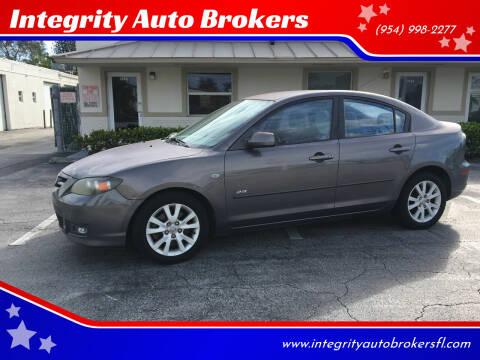 2008 Mazda MAZDA3 for sale at Integrity Auto Brokers in Pompano Beach FL