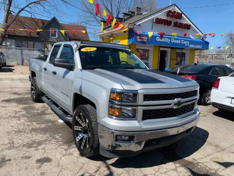 2015 Chevrolet Silverado 1500 for sale at C & M Auto Sales in Detroit MI