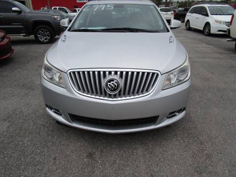 2011 Buick LaCrosse for sale at DERIK HARE in Milton FL