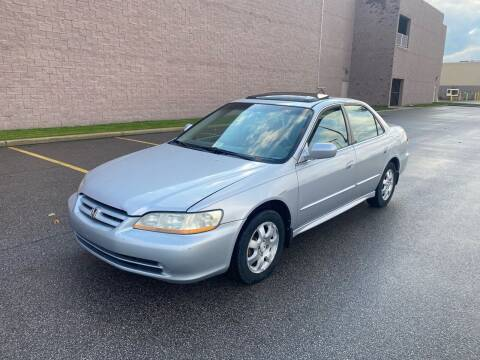 2002 Honda Accord for sale at JE Autoworks LLC in Willoughby OH