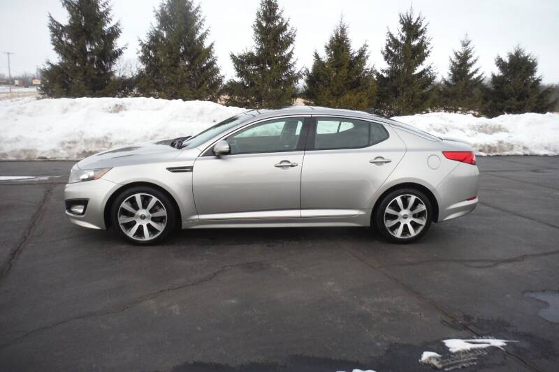 2013 Kia Optima for sale at Bryan Auto Depot in Bryan OH