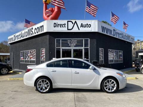 2017 Buick Regal for sale at Direct Auto in D'Iberville MS