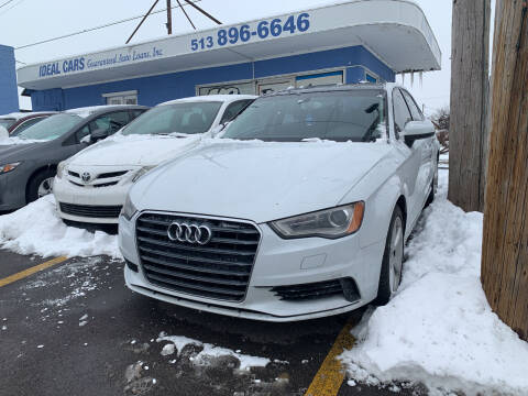 2015 Audi A3 for sale at Ideal Cars in Hamilton OH