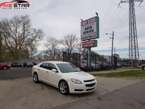 2012 Chevrolet Malibu for sale at Five Star Auto Center in Detroit MI