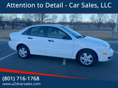 2006 Ford Focus for sale at Attention to Detail - Car Sales, LLC in Ogden UT