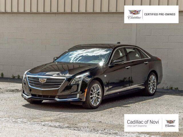 2018 Cadillac CT6 for sale in Novi, MI