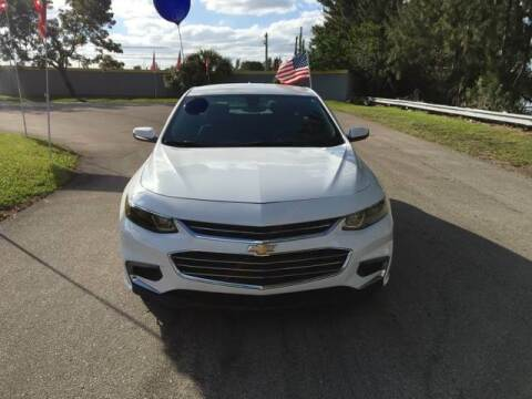 2016 Chevrolet Malibu for sale at CAR UZD in Miami FL