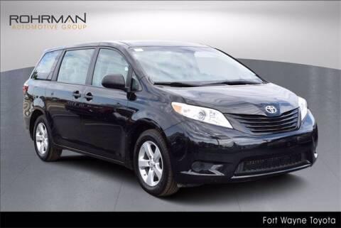 2015 Toyota Sienna for sale at BOB ROHRMAN FORT WAYNE TOYOTA in Fort Wayne IN
