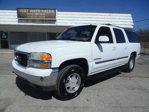 2000 GMC Yukon XL for sale at VEST AUTO SALES in Kansas City MO