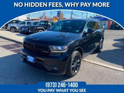 2017 Dodge Durango for sale at Route 46 Auto Sales Inc in Lodi NJ