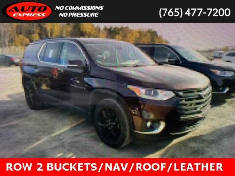 2020 Chevrolet Traverse for sale at Auto Express in Lafayette IN