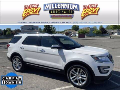 2017 Ford Explorer for sale at Millennium Auto Sales in Kennewick WA