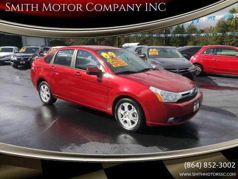 2009 Ford Focus for sale at Smith Motor Company INC in Mc Cormick SC