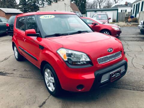 2011 Kia Soul for sale at SHEFFIELD MOTORS INC in Kenosha WI