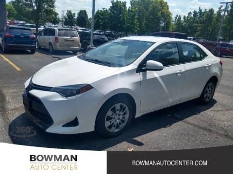 2018 Toyota Corolla for sale at Bowman Auto Center in Clarkston MI