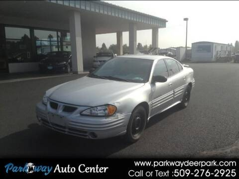 2002 Pontiac Grand Am for sale at PARKWAY AUTO CENTER AND RV in Deer Park WA
